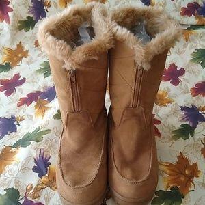 Sonoma Zest Tan Suede Boots